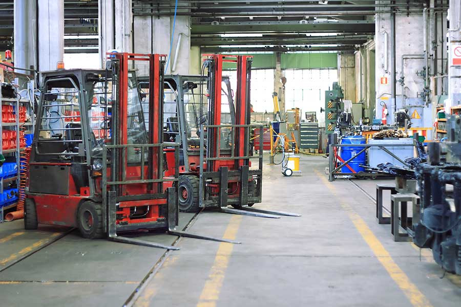 Forklift Repairs and Service in West Central Florida