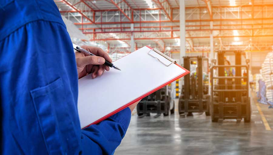 schedule maintenance — Forklift Sales in Hillsborough County, FL